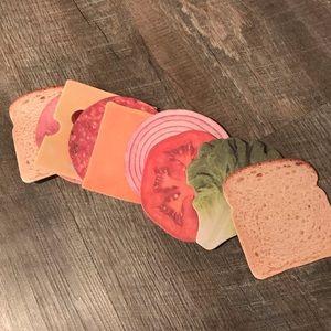 3/$25 Sandwich coasters